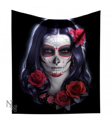 Sugar skull - Plaid gothic - James Ryman - 160cm