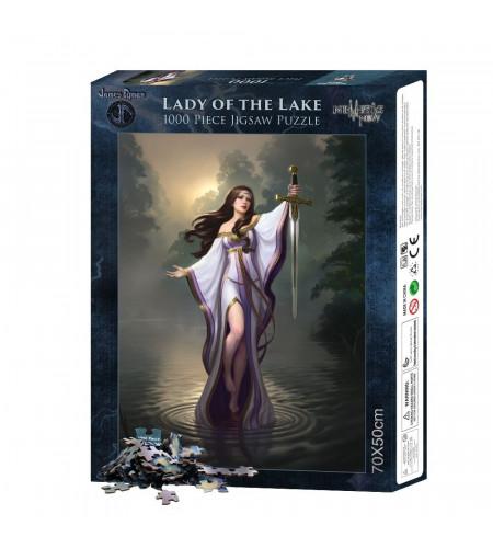 Puzzle - Fantasy - James Ryman - Lady of the lake - 1000 pièces