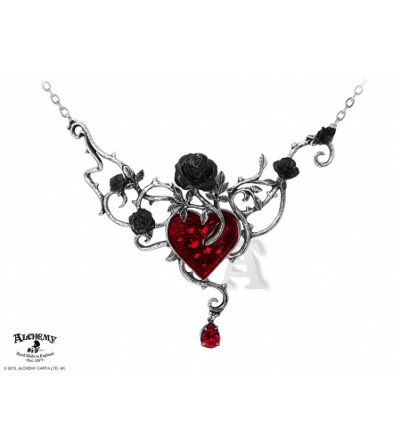Bed of blood roses collier - Alchemy Gothic