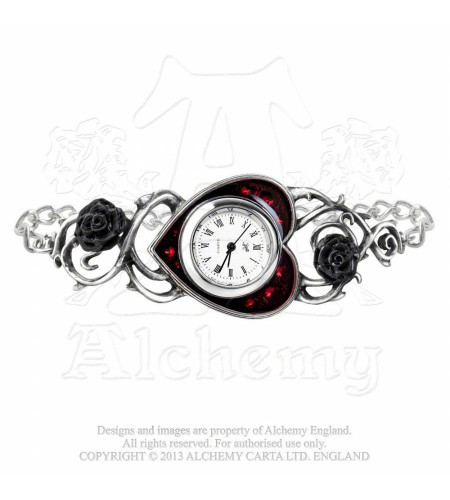 Montre bed of blood roses