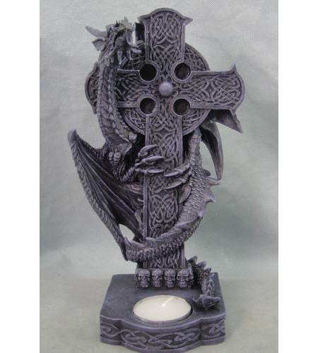 boutique vente objet déco heroic fantasy dragon noir celtic