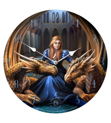 Votre boutique anne stokes magasin déco fées et dragons en France - horloge
