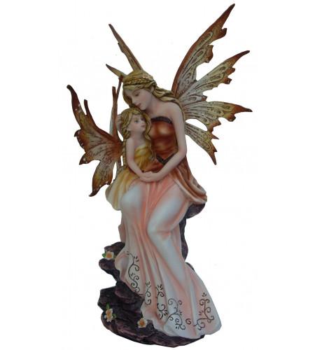 magasin vente figurines décoration fée elfe mère fille enfant AF028G
