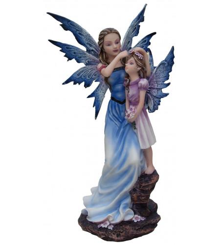 magasin vente figurines décoration fée elfe mère fille enfant AF028H