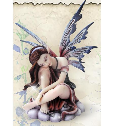 Fée figurine féerique elfe (15x10cm)