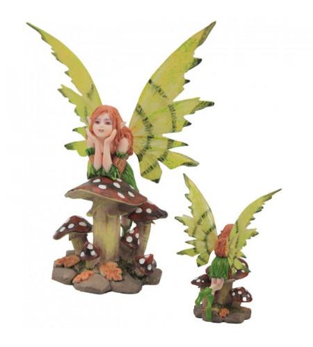 Fée elfe Zelima - Figurine féerique