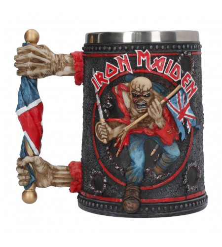 Boutique Iron maiden grupe heavy metal merch officiel mug chope tankard the trooper