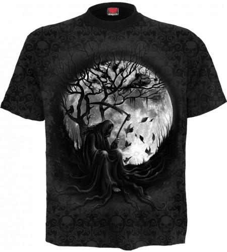 magasin vente tee shirt gothic dark fantasy la faucheuse reaper killing moon manches courtes