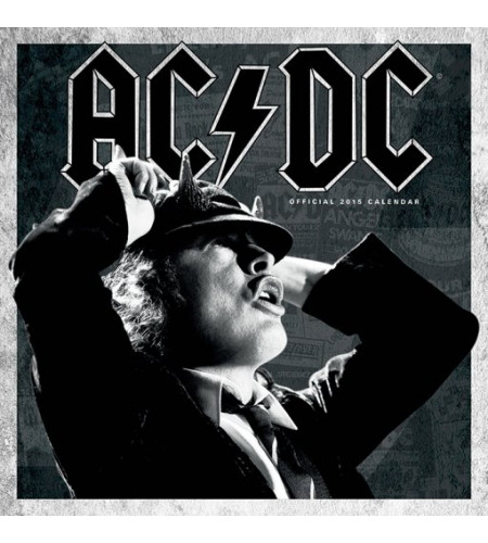 calendrier rock 2015 ac/dc hard rock boutique