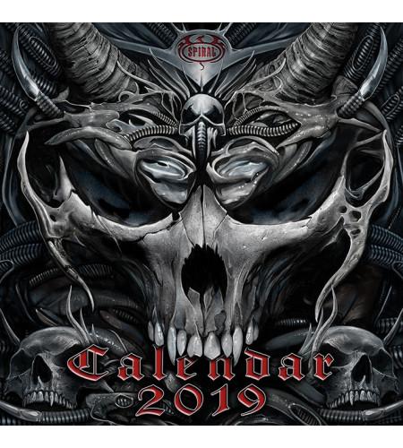 Boutique Spiral Direct vente calendrier 2019 gothic loup fantasy
