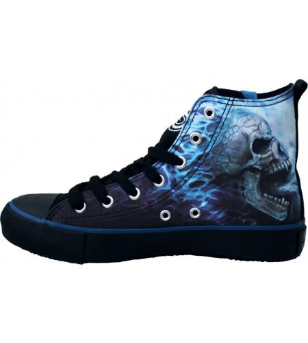 Boutqiue vente chaussures rock gothic fantasy pour femmes sneakers