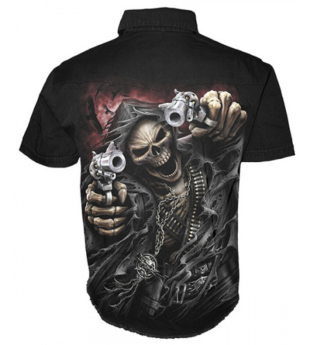 Assassin - Chemise homme squelette - Spiral
