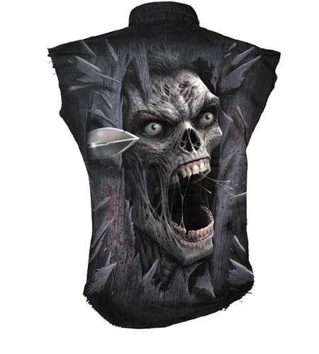 chemise homme gothique zombie