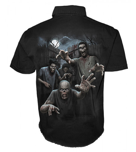 Zombies unleashed - Chemise homme - Spiral