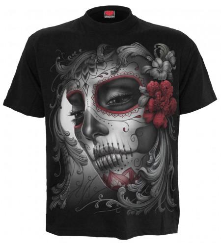Skull roses - T-shirt homme - Fantasy gothique