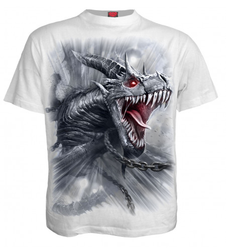 boutique vetements motif heroic fantasy créature dragon