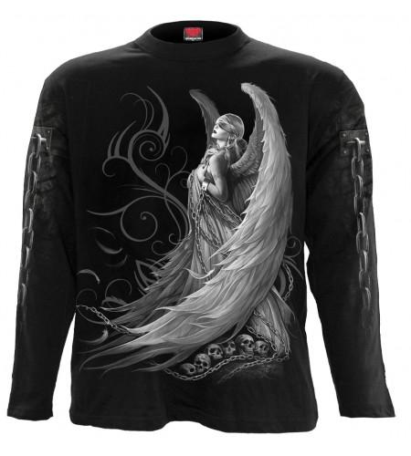 boutique vetement ange gothic manches longues homme captive spirit spiral france