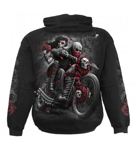 DOTD Biker - Sweat shirt squelette - Moto - Motard