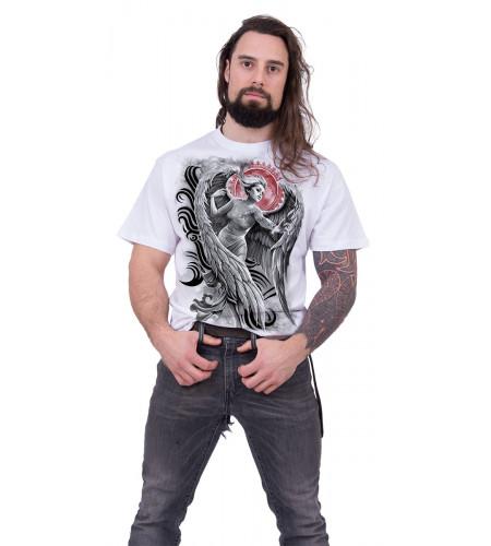 Angel despair - Tee-shirt blanc homme - Ange
