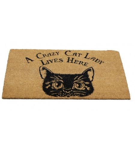 Boutique décoration motif chat vente paillasson