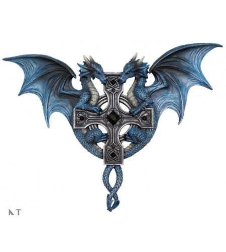 Boutique anne stokes vente figurine dragons bleus décoration fantasy