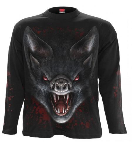 t-shirt manches longues homme vampire chauve siuris