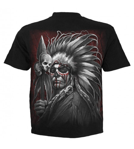 Tribal dreams - T-shirt homme indien dark fantasy