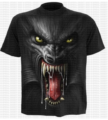 t-shirt loup garou