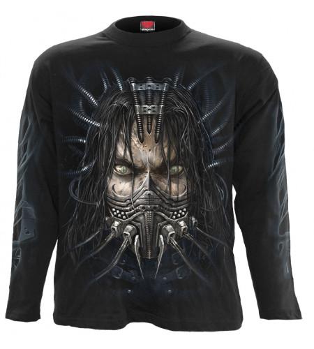 tee shirt cyber punk cyborg gothique