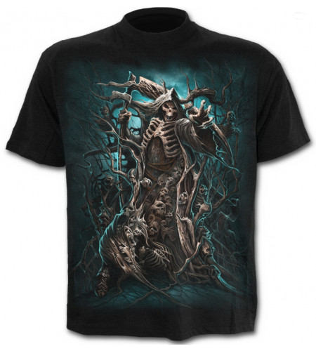 Vetement homme dark fantasy forest reaper spiral
