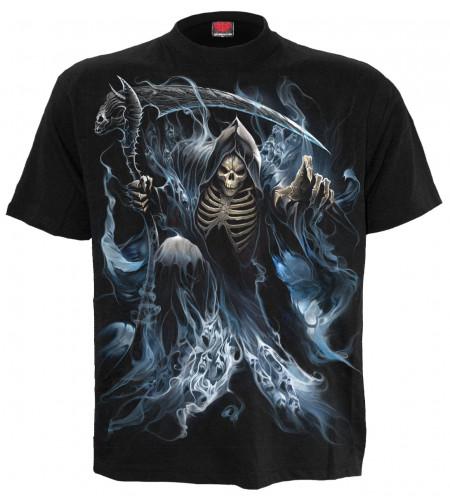 boutique vente tee shirt hoomme gothique motif reaper