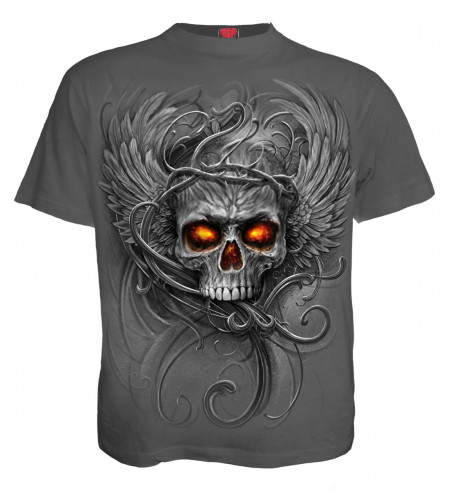 Roots of hell - T-shirt homme gothic dark - Spiral