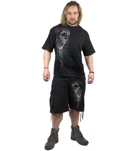 Bat curse - Short long homme - Dark - Spiral