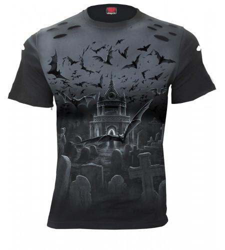 outique magasin vente vetement tshirt dark gothic fantasy pour homme nightshift spiral direct