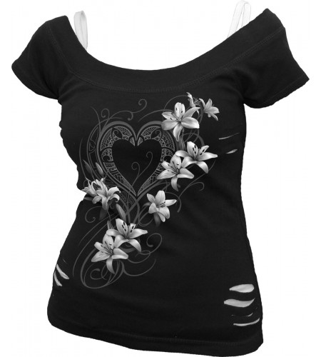 Pure of heart - T-shirt femme - Romantique