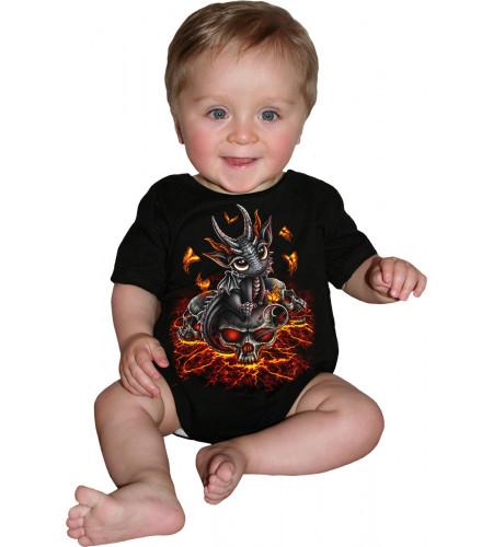 Stranded - Body bébé - Dragon - Sppiral