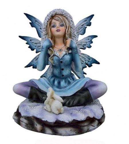 Fée Brenda - Figurine féerique (14x13cm)