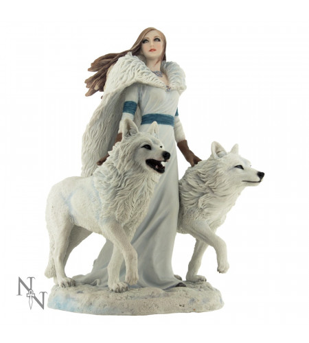 Boutique vente figurines Anne Stokes en France - Winter guardians statuette