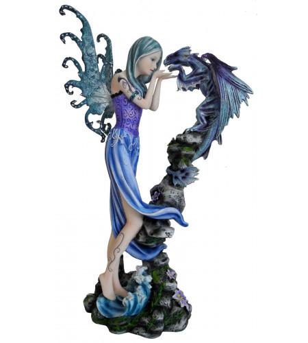 Boutique magasin vente figurine fées et dragons meilleur prix pas cher