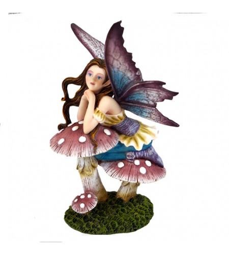 figurine elfe rêveuse
