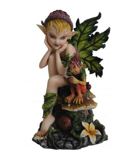 boutqiue magasin objet déco figurine lutin petit peuple féerie