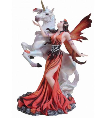 Magasin féerique fantasy vente figurines fées et licornes NP365O2