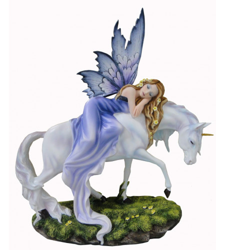 boutique vente figurine licorne et fée statuette décoration