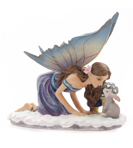 figurine elfe bleu lisa parker tales of avalon