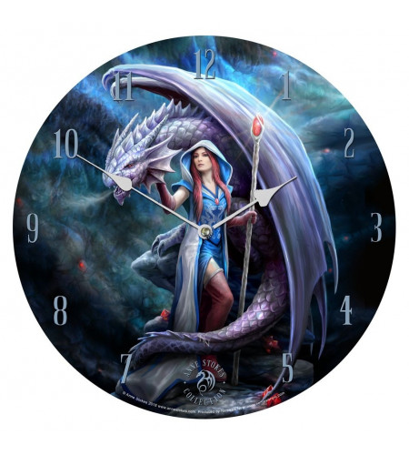 Dragon mage - Horloge heroic fantasy - James Ryman