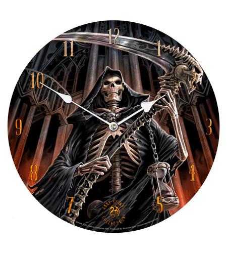 horloge motif reaper anne stokes gothic