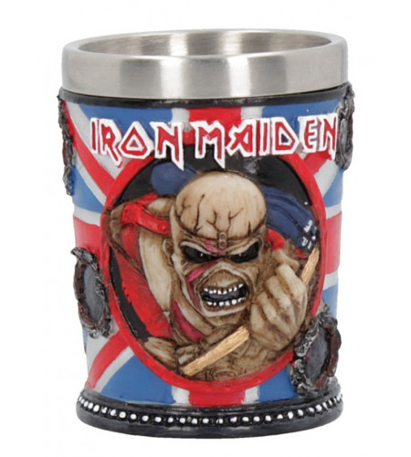 Iron Maiden - Verre shot glass - The Trooper