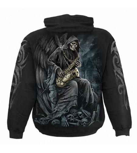 Reaper blues - Sweat shirt homme - La faucheuse squelette - Spiral