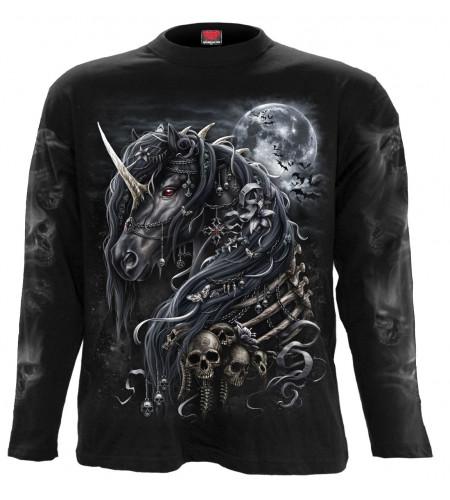 Dark unicorn - T-shirt licorne gothic - Homme - Spiral