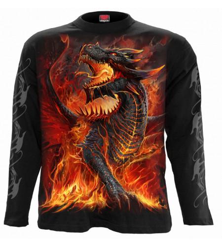 Draconis - Tshirt homme dragon - Manches longues